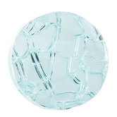 Crackle Mirror Glass Knob